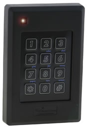 Delta6.4 Multi-Technology Contactless Smartcard Reader and Keypad
